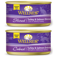 Wellness Turkey &amp; Salmon Dinner for Cats