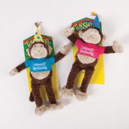 ToyShoppe Birthday Monkey Dog Toys