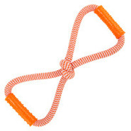 Nylabone Dura Toy Play Rope Bone