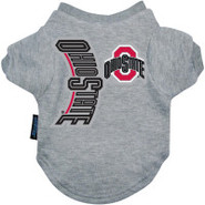 Ohio State Buckeyes Logo Pet T-Shirt