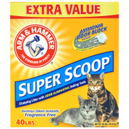 Arm &amp; Hammer Super Scoop Fragrance-Free Cat Litter