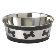 PetRageous Designs Tobago Bones Pet Bowl