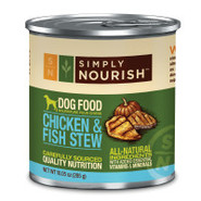 Simply Nourish Chicken &amp; Fish Stew Dog Food