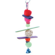 All Living Things Pom Pom Bird Toy