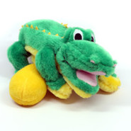 Plush Puppies Egg Babies Alligator Dog Toy