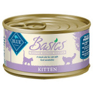 BLUE Basics Sensitive Solution Kitten Food