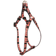 Lil' Paw&reg Bones Nylon Comfort Wrap Dog Harness