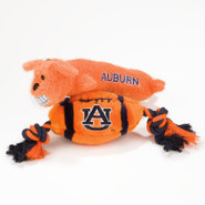 Pets First Auburn Tigers Plush Collegiate Dog Toys