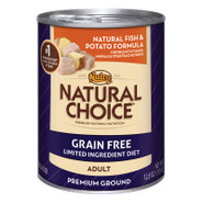 Nutro Natural Choice Grain-Free Fish and Potato Ad