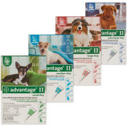 Advantage II  For Dogs - 6 Pack