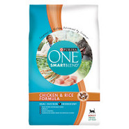 Purina ONE SmartBlend Chicken & Rice Formula Cat F