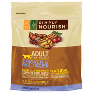 Simply Nourish Adult Chicken & Rice Cat Food