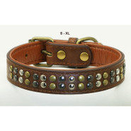 Hip Doggie Metro Metal Collar for Dogs