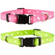 Lil&#39; Paw&amp;reg Reflective Nylon Collar
