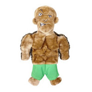 Plush Puppies Squeaker Mat Tuff Guy Lars Dog Toy