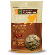 Simply Nourish Freeze-Dried Beef Liver Dog Treats