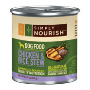 Simply Nourish Chicken and Rice Stew Dog Food