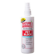 Nature's Miracle Pet Block Cat Repellent Spray
