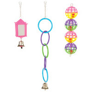 Grreat Choice Lantern and Rings Bird Toy