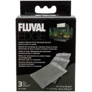 Fluval Edge Carbon Clean & Clear Renewal Sachet- 3