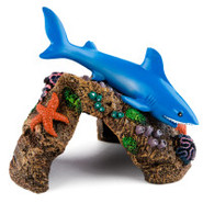 Great White Shark Aquarium Ornament