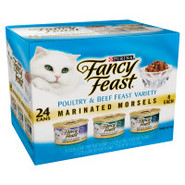 Fancy Feast Marinated Morsels Poultry & Beef Varie