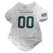 Michigan State Spartans Premium Pet Football Jerse