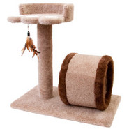 Whisker City&reg Paw Pad Cat Scratcher