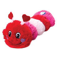 Luv-A-Pet Red Caterpillar Dog Toy
