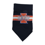 Illinois Fighting Illini Official Dog Collar Banda