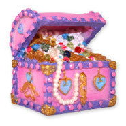 Top Fin Princess Treasure Chest Aquarium Ornament