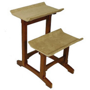 Mr. Herzher&#39;s Double Seat Wooden Cat Perch