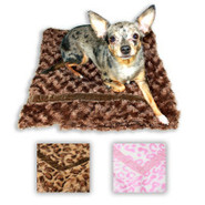 Hip Doggie Super Soft Mink Fur Trundle Blankets