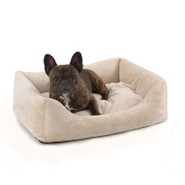 Pet Dreams Plush Eco-Friendly Bumper Dog Bed