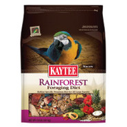 Foraging Rainforest Macaw Bird Food