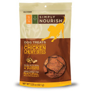 Simply Nourish NATURAL Chewy Bites Dog Treats