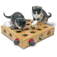 SmartCat Peek-a-Prize Toy Box for Cats