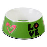 Top Paw  Melamine   Love-Love   Dog Bowl