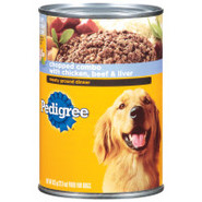 Pedigree Meaty Ground Dinner with Chopped Liver an