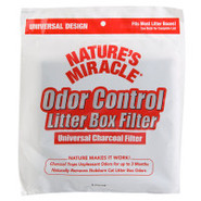 Nature&#39;s Miracle Odor Control Litter Box Filter