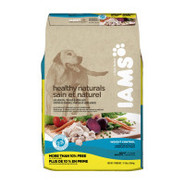 Iams Healthy Naturals Adult Weight Control Dog Foo