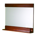 Cherry Finished Wood Mirror