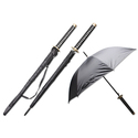 Samurai Handle 44-inch Span Umbrella - Hana (Flowe