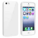 White Jelly TPU Rubber Skin Case for Apple?? iPhon