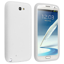 Solid White Silicone Skin Case for Samsung?? Galax