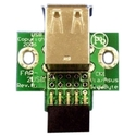 2 Port USB Motherboard Header Adapter