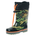 Boy Camo Printed Rubber Rain boot