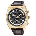 Men's Rose-goldtone Calibre 8700 Eco-Drive Wa
