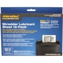 Aleratec 240165 Shredder Lubricant Sheet