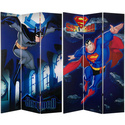 Six-Foot Tall Double Sided 'Superman and Batm